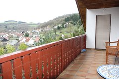 Cozy and Charming Furnished 4 Bedrm / 1.5 Bathrom Apartment w/Covered Balcony & Off-Street Parking in Ramstein, Germany