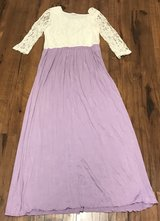 Lavender Lace Maxi Dress Size L in Fort Leonard Wood, Missouri