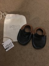 Leather moccasin shoes 18-24 mo in Aurora, Illinois