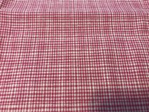 Red linen fabric in Alamogordo, New Mexico