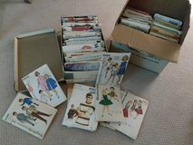 Large box of Vintage sewing patterns in Aurora, Illinois