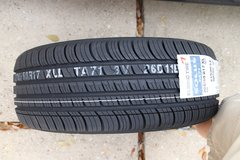 2 Kumho Solus TA71 all season radial tires (17 inch    P205/50R17) in Kingwood, Texas