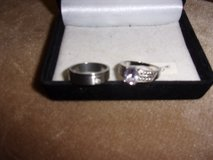Size 9 His and Hers Rings in Fort Riley, Kansas