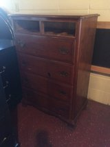 Solid Wood Tall Chest Of Drawers Dresser in Fort Polk, Louisiana