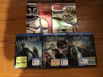 Clone Wars TV show & Harry Potter Blu-Ray in Tinley Park, Illinois