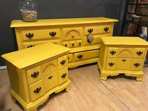 High End Quality Used Furniture, both painted and unpainted Check us out on Facebook in Fort Leonard Wood, Missouri