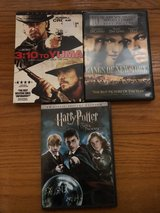 3:10 to Yuma, Gangs of New York, Harry Potter DVD in Orland Park, Illinois