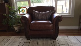 """88 """" sofa and matching chair in Fort Lewis, Washington"""