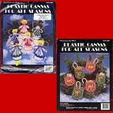 2 PLASTIC CANVAS XMAS KITS, Needlecraft Ala Mode in Westmont, Illinois