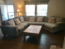 sectional couch beige in Spring, Texas