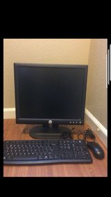 Dell Monitor, keyboard and mouse in Travis AFB, California