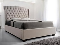 BRAND NEW IN BOX WITH WARRANTY! LUXURIOUS QUEEN DEEP TUFTED  BEDFRAME in Camp Pendleton, California