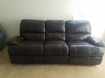 leather sofa/love seat recliner set in Camp Pendleton, California
