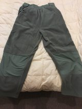 sage fleece pants in Okinawa, Japan
