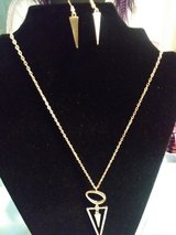 Necklace set with stunning earnings in Fort Lewis, Washington