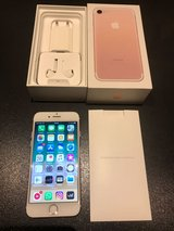 iPhone 7 Rose Gold 32 GB with case in Wiesbaden, GE