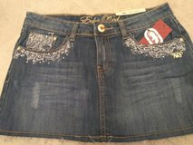 Brand New W/Tags Juniors EckoRed Mini Jean Skirt in Fort Bragg, North Carolina