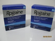 mens rogaine new 2 boxes new price $20.00 for both in Camp Lejeune, North Carolina