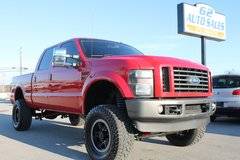 "2008 Ford F250 Lariat Crew Cab 4X4 ""Lifted"" #TR10376 in Louisville, Kentucky"