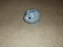 Blue Ceramic Piggy Bank in Glendale Heights, Illinois