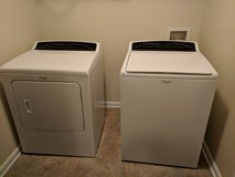 Whirlpool washer and dryer set in Fort Benning, Georgia