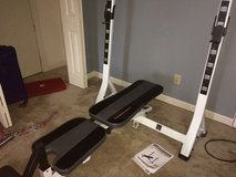 Weight bench (fold up) in West Orange, New Jersey