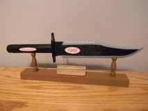 Rambo Knife  (wood carving) in Camp Lejeune, North Carolina