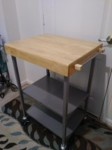 Butcher Block Island like new in Conroe, Texas