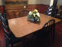 Dining Table - Ethan Allen, formica top, 4 chairs in Quantico, Virginia