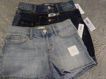 3 pair New size girls 7/8 jean shorts in Fort Lewis, Washington