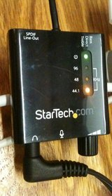 StarTech USB sound card SPDIF, analog, volume & tone, Apple I/O bug fix in Tacoma, Washington