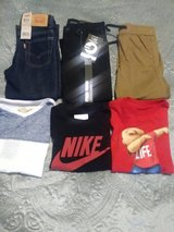 3 sets of boys size 4 outfits in Fort Lewis, Washington