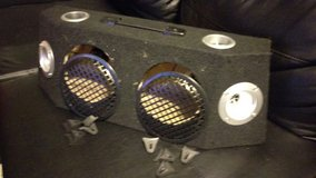 "6.5"" x 2 Speaker/Subwoofer Slim Truck Box in Schaumburg, Illinois"