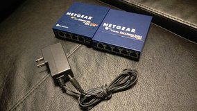 Netgear Ethernet Hub/Switch in Schaumburg, Illinois