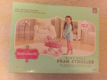 Baby Tender Hearts Baby Doll Pram Stroller in Joliet, Illinois