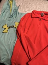 women's Medium UA and NorthFace in Belleville, Illinois