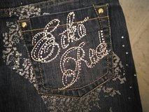 Juniors Jean EckoRed Mini Sjirt W/Bling in Fort Bragg, North Carolina