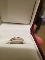 1/2kt WHITE GOLD WEDDING BAND w/DIAMONDS in Fort Knox, Kentucky