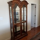 Large Lighted Curio Cabinet in Fort Leonard Wood, Missouri