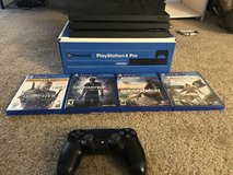 PS4 Pro w/ 4 Games in Fort Irwin, California