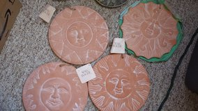 Set of Sun Wall Plaques in Fort Campbell, Kentucky