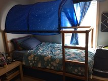 Ikea kids bed with canopy in Hinesville, Georgia