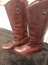 "Rodeo - Frye button boots ""Melissa"" Brown 8B in Spring, Texas"