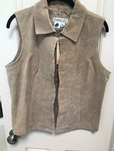 Women's Leather Vest New! in The Woodlands, Texas