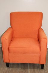 Modern Accent Chair in Orange in CyFair, Texas