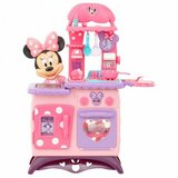 Pre Owned Minnie Mouse Flipping Fun Kitchen + Shopping Cart in Las Vegas, Nevada