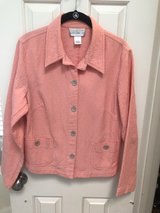 Beautiful Coral Quilted Jacket in Houston, Texas
