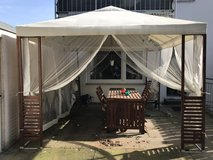 Garden Cabana Tent /  table and chairs for patio in Stuttgart, GE