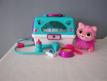 Just Play Doc McStuffins Toy Hospital Pet Carrier Whisper Roleplay Used Very Good Condition in Joliet, Illinois