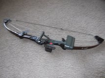 Further Reduced:1970's Bear Whitetail Hunter Compound Bow & Accessories in Sandwich, Illinois